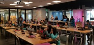 kid bot camp last week 2019
